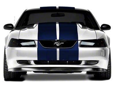 American Muscle Graphics Blue Lemans Stripes - 12 in. (94-04 All)