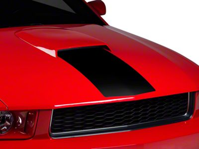 American Muscle Graphics Black Hood Stripe (05-09 GT, V6)