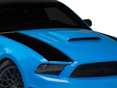 American Muscle Graphics Black Outer Hood Stripes (13-14 All)