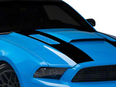 American Muscle Graphics Black Inner Hood Stripes (13-14 All)