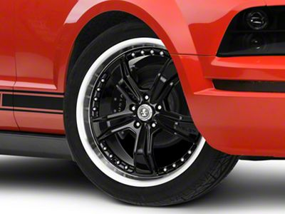 Shelby Razor Black Wheel - 20x9 (05-14 All, Excluding 13-14 GT500)