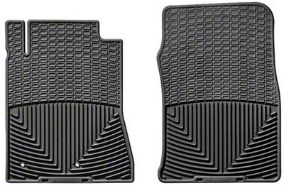 Weathertech All Weather Front Rubber Floor Mats - Black (10-14 All)