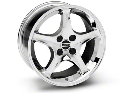 1995 Cobra R Style Chrome Wheel - 17x9 (87-93 All, Excluding Cobra)