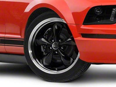 Deep Dish Bullitt Black Wheel - 20x8.5 (05-10 GT; 05-14 V6)