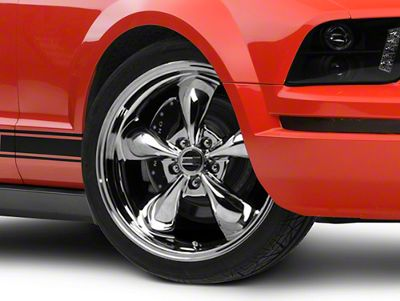 Deep Dish Bullitt Chrome Wheel - 20x8.5 (05-10 GT; 05-14 V6)