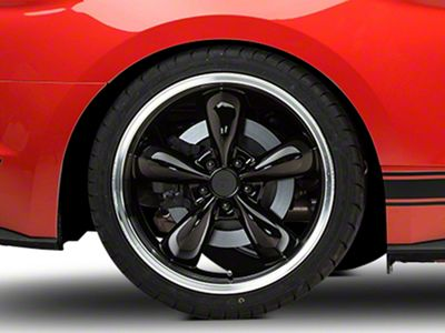 Deep Dish Bullitt Black Wheel - 20x10 - Rear Only (15-19 EcoBoost, V6)