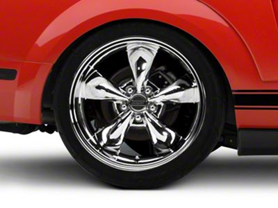 Deep Dish Bullitt Chrome Wheel - 20x10 (05-14 All, Excluding GT500)