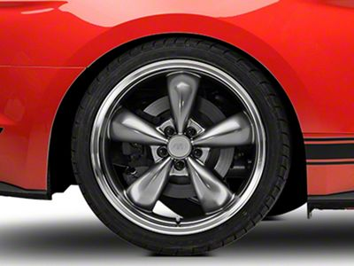 Deep Dish Bullitt Anthracite Wheel - 20x10 - Rear Only (15-19 EcoBoost, V6)