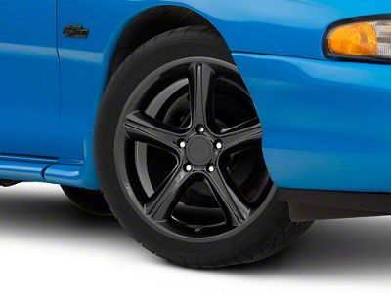 2010 GT Premium Style Black Wheel - 18x9 (94-04 All)