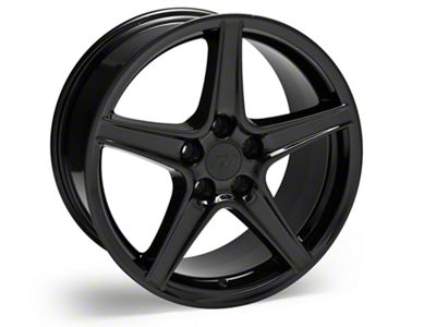 S Style Black Wheel - 18x9 +30mm (94-14 All)