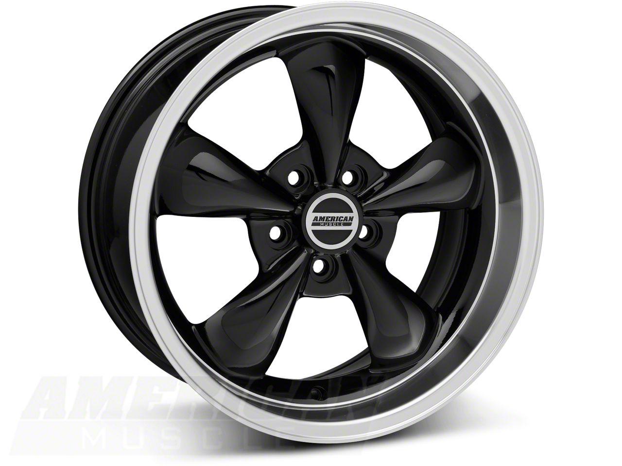 Deep Dish Bullitt Black Wheel - 18x9 (94-04 All; 05-10 GT; 05-14 V6)