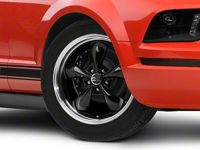 Deep Dish Bullitt Black Wheel - 18x9 (05-10 GT; 05-14 V6)