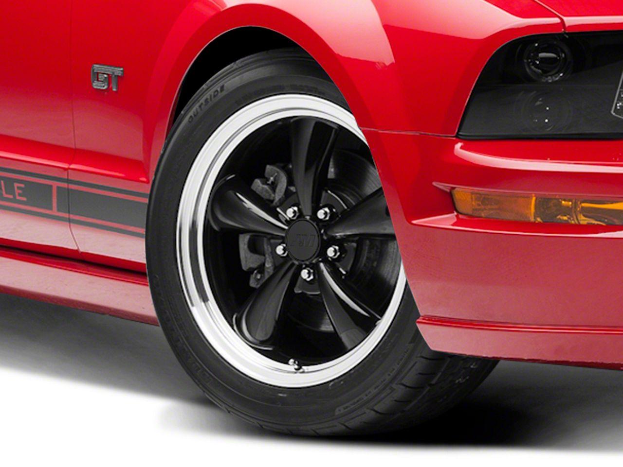 Bullitt Black Wheel - 18x8 (05-14 Standard GT, V6)