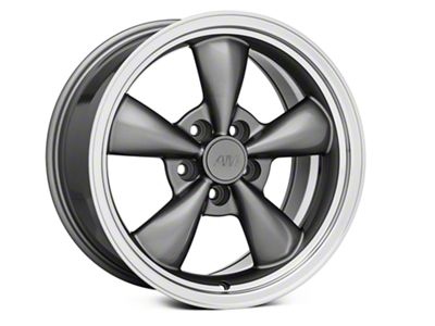 Bullitt Anthracite Wheel - 17x9 (94-04 All; 05-10 GT; 05-14 V6)