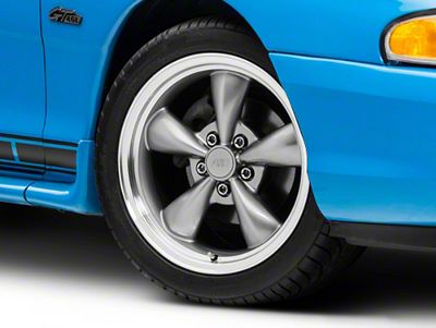 Bullitt Anthracite Wheel - 17x9 (94-04 All)
