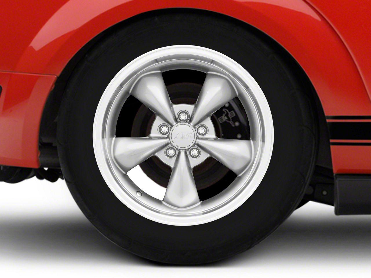 Deep Dish Bullitt Anthracite Wheel - 18x10 (05-14 Standard GT, V6)