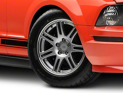 10th Anniversary Cobra Style Anthracite Wheel - 17x9 (05-14 GT, V6)