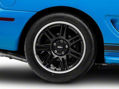 10th Anniversary Cobra Style Black Wheel - 17x10.5 - Rear Only (94-04 All)
