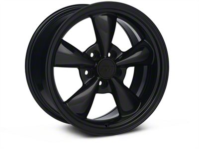Bullitt Solid Black Wheel - 17x9 (05-10 GT; 05-14 V6)