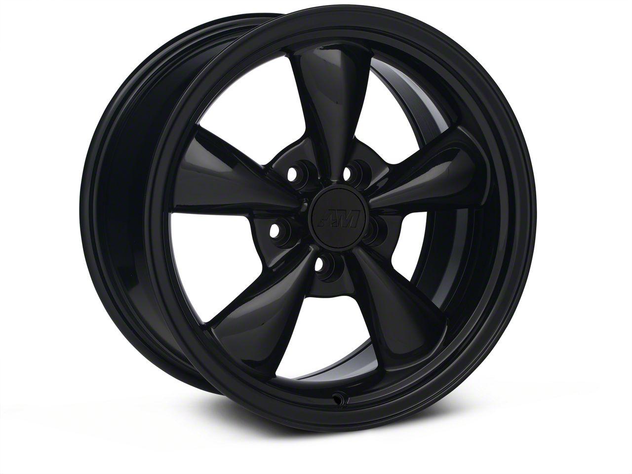 Bullitt Solid Black Wheel - 17x9 (05-10 GT; 05-14 V6)
