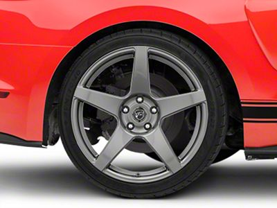 Forgestar CF5 Monoblock Gunmetal Wheel - 19x10 - Rear Only (15-19 GT, EcoBoost, V6)