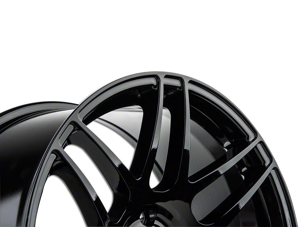 Forgestar CF5 Monoblock Piano Black Wheel - 19x9 (15-19 GT, EcoBoost, V6)