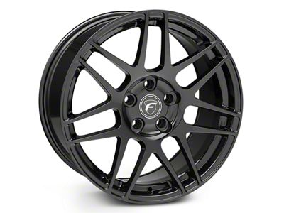 Forgestar F14 Monoblock Piano Black Wheel - 18x10 (15-19 EcoBoost, V6)