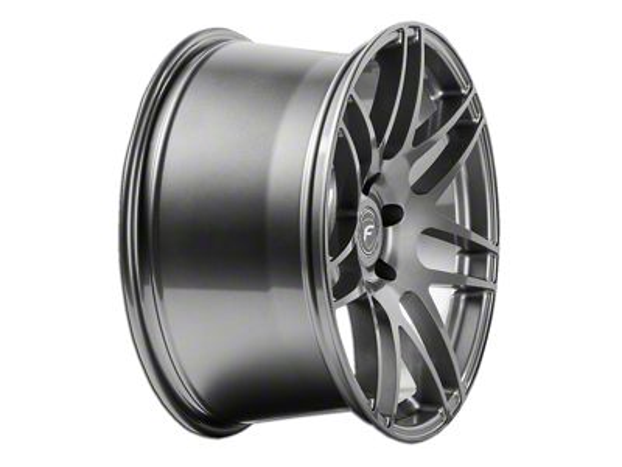 Forgestar F14 Monoblock Deep Concave Monoblock Gunmetal Wheel - 20x11 - Rear Only (15-19 GT, EcoBoost, V6)