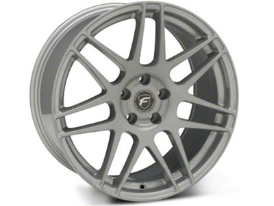 Forgestar F14 Monoblock Silver Wheel - 19x10 - Rear Only (15-19 GT, EcoBoost, V6)
