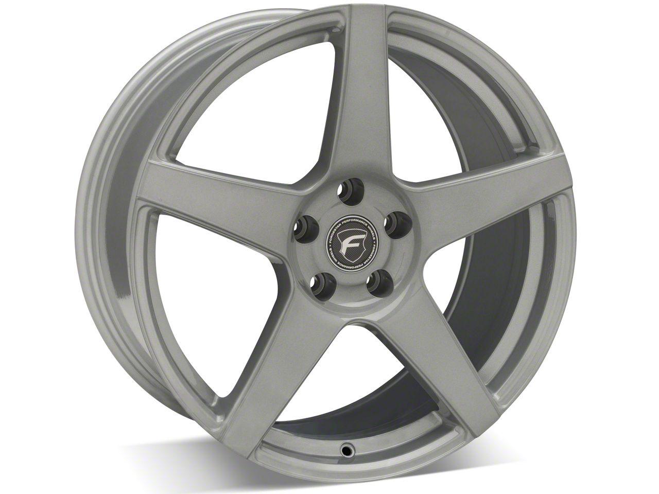 Forgestar CF5 Monoblock Silver Wheel - 19x9 (15-19 GT, EcoBoost, V6)