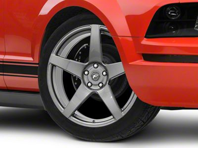 Forgestar CF5 Monoblock Gunmetal Wheel - 20x9 (05-14 All)