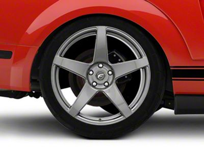 Forgestar CF5 Monoblock Gunmetal Wheel - 20x11 - Rear Only (05-14 All)