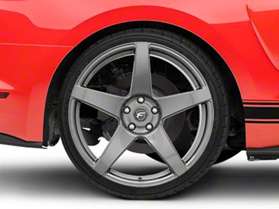 Forgestar CF5 Monoblock Gunmetal Wheel - 20x11 - Rear Only (15-19 GT, EcoBoost, V6)