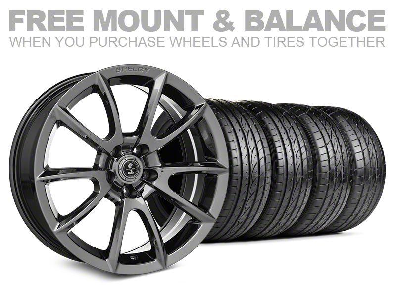 Shelby Super Snake Style Chrome Wheel & Sumitomo Tire Kit - 19x8.5 (05-14 All)