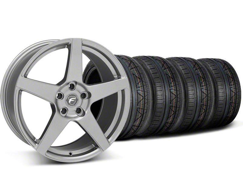 Forgestar CF5 Monoblock Gunmetal Wheel & NITTO INVO Tire Kit - 20x9 (05-14 All)
