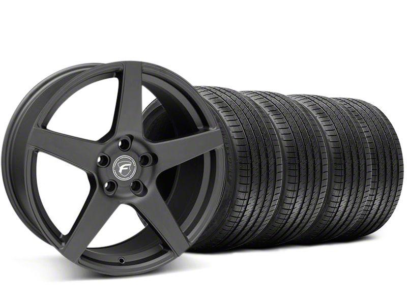 Forgestar CF5 Monoblock Matte Black Wheel & Sumitomo Tire Kit - 20x9 (05-14 All)