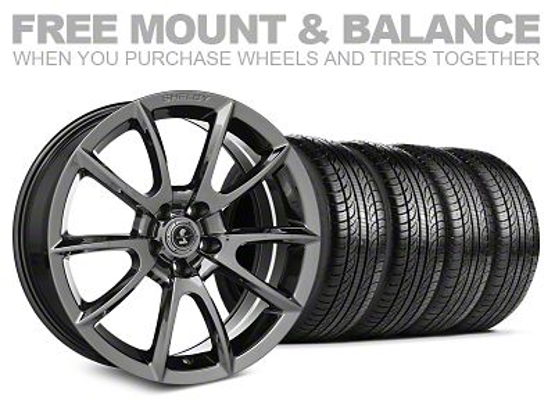 Staggered Super Snake Style Chrome Wheel & Pirelli Tire Kit - 19x8.5/10 (05-14 All)