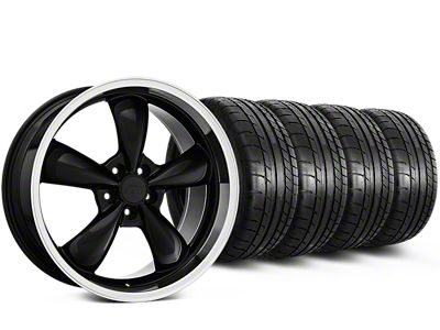 Bullitt Mustang Black Wheel & Mickey Thompson Tire Kit - 18x8 (94-98 All)