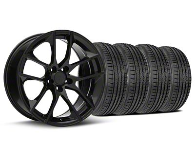 Magnetic Style Black Wheel & Sumitomo Tire Kit - 19x8.5 (05-14 GT, V6)