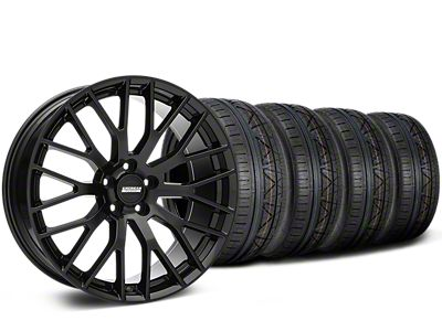 Performance Pack Style Black Wheel & NITTO INVO Tire Kit - 19x8.5 (05-14 GT, V6)