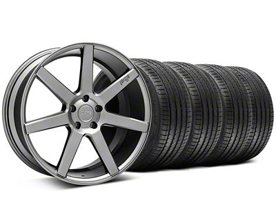 Staggered Niche Verona Anthracite Wheel & Sumitomo Tire Kit - 20x9/10 (05-14 All)