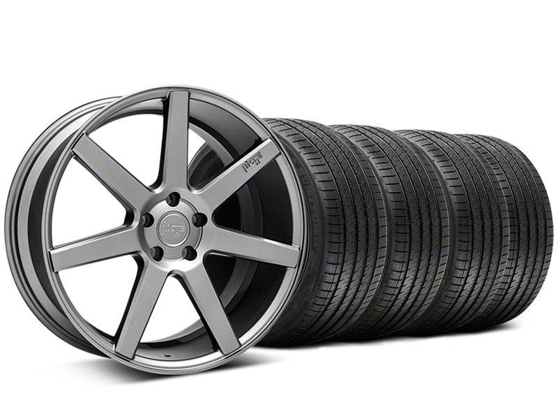 Staggered Niche Verona Anthracite Wheel & Sumitomo Tire Kit - 20x9/10 (05-14 All)