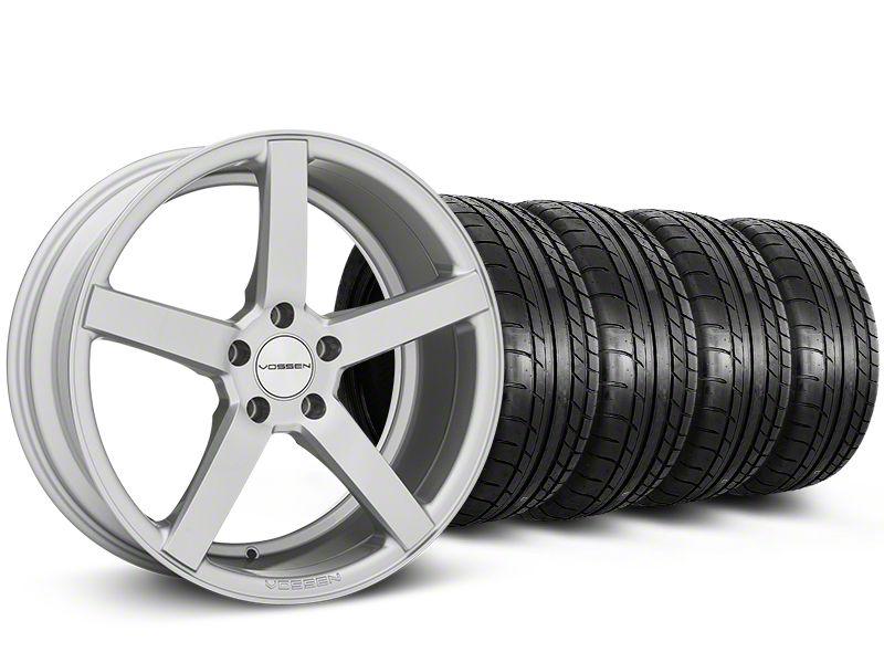 CV3-R Metallic Silver Wheel & Mickey Thompson Tire Kit - 20x9 (05-14 All)