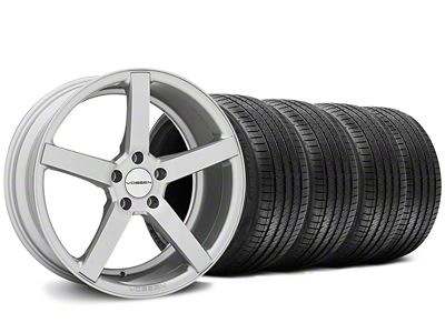 Staggered CV3-R Metallic Silver Wheel & Sumitomo Tire Kit - 20x9/10.5 (05-14 All)