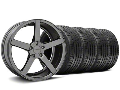 Staggered CV3-R Graphite Wheel & Sumitomo Tire Kit - 20x9/10.5 (05-14 All)