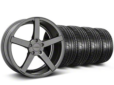 Staggered CV3-R Graphite Wheel & Mickey Thompson Tire Kit - 20x9/10.5 (05-14 All)
