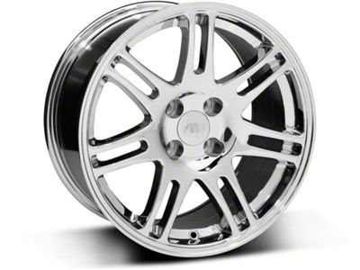 10th Anniversary Cobra Style Chrome Wheel - 17x9 (87-93 All, Excluding Cobra)