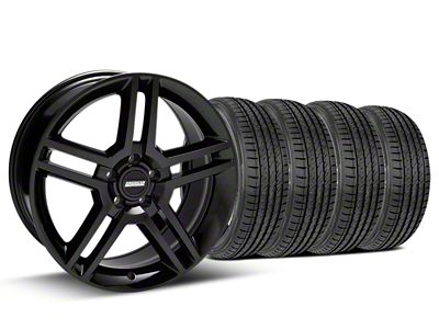 2010 GT500 Style Black Wheel & Sumitomo Tire Kit - 19x8.5 (05-14 All)