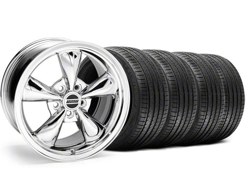 Bullitt Chrome Wheel & Sumitomo Tire Kit - 17x8 (94-04 All)