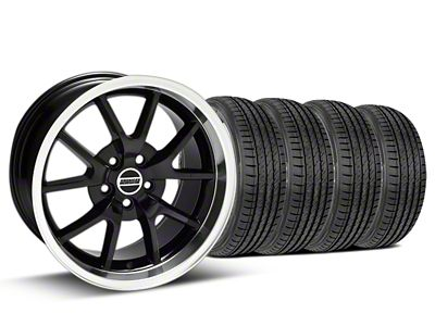 FR500 Style Black Wheel & Sumitomo Tire Kit - 17x9 (99-04 All)